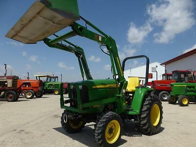 2010 John Deere 3038E Mfwd Compact Tractor With Loader For Sale 501 Hours Hydro