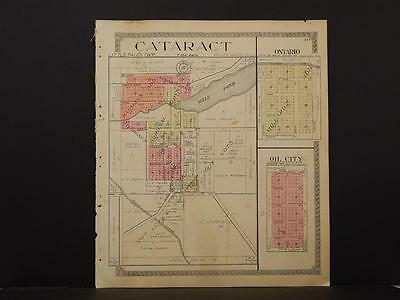 Wisconsin, Monroe County Map, 1915, Cataract, J12#22