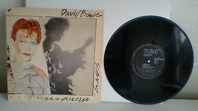 David Bowie Scary Monsters Vinyl Lp.  1St Uk Pressing.  Exc. Cond.