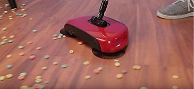 Roto Sweeper The Original Best Rotating Floor Sweeper That Picks Up Anything! AS
