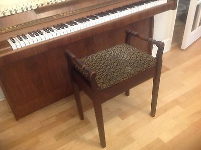 Vintage Piano Stool, Possible Vanity Bench