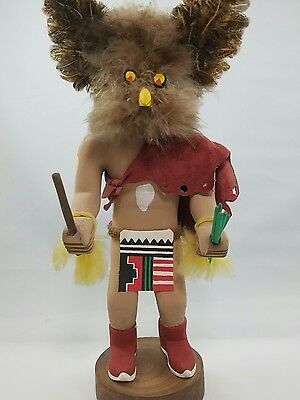 Kachina doll owl vintage native american indian collectible