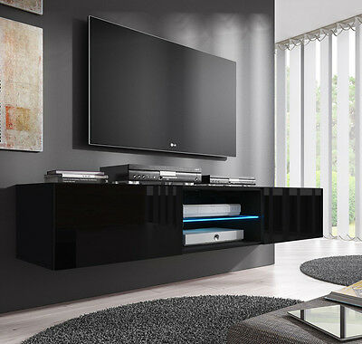 Mueble TV modelo Tibi (160 cm) en color negro