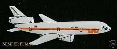 Western Airlines Dc-10 Douglas Hat Pin Pilot Flightcrew The Only Way To Fly Wow