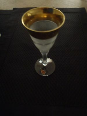 "Moser Splendid Port Wine Glasses New (5 3/4"")   4 Available Sold Individually"