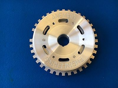 Ford CVH RS Turbo Billet Aluminium Crank Pulley With 36-1 Trigger wheel Cosworth