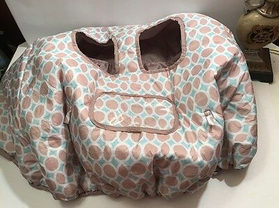 Summer Infant Cart Cover - Dots & Diamonds