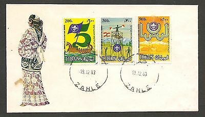 Lebanon 1983 Scouts Unnaddressed FDC