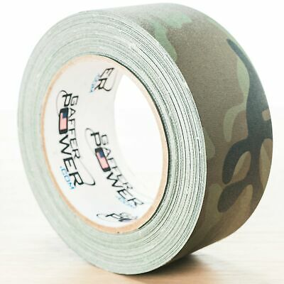Gaffer Power Army Green Camouflage Gaffer Tape  2 inch x 30 yds  MADE IN USA
