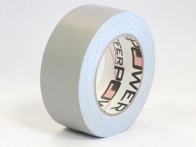 Gaffer Power Grey Gaffer Tape, 2 Inch x 30 Yds - No Residue - MADE IN THE USA