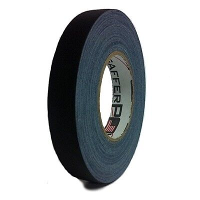 Gaffer Power Black Gaffer Tape - 1 Inch x 55 Yards - No Residue - MADE IN THE US
