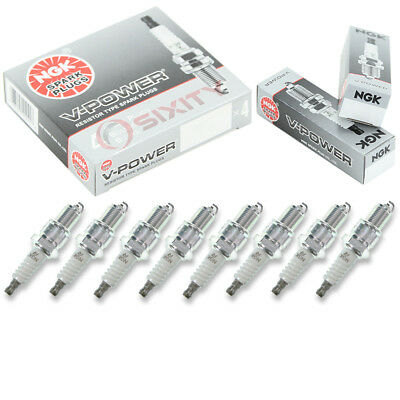 8 pcs NGK V-Power Plug Spark Plugs 1966 Plymouth Belvedere 7.0L V8 Kit Set us