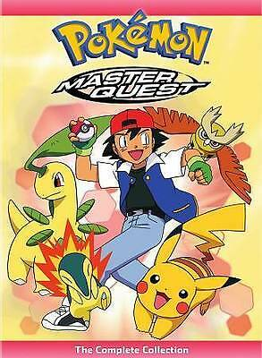 Pokemon: Master Quest - The Complete Collection Box (DVD, 2016, 7-Disc Set)