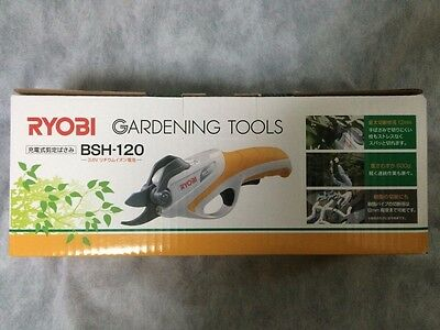 Ryobi rechargeable pruning shears BSH-120 3.6V 665000A Free ship Japan