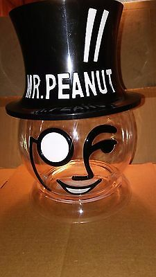 Planters Mr Peanut Head  Counter Display Container For Your Favorite Treats