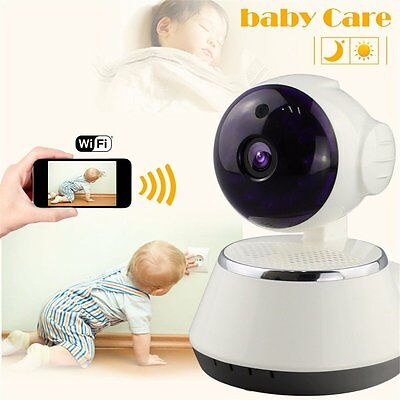 Wireless Baby Monitor, M.Way Video Baby Wifi Monitor HD 720P Remote Home Camera