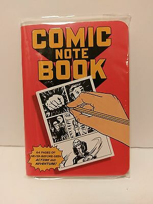 Lootcrate Exclusive Comic Notebook January 2015 Brand NEW