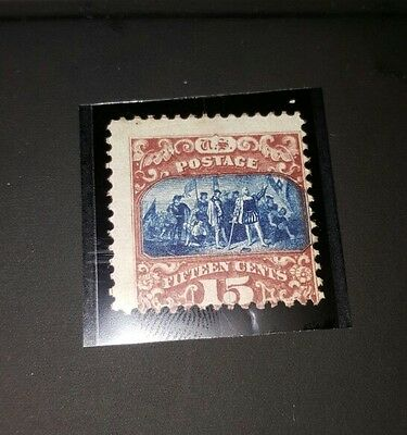 US #119 15c STAMP ** EXTREMELY NICE*** ( MINT NEVER HINGED) SV $1,750.00