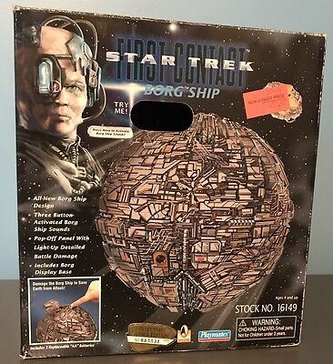Star Trek First Contact Borg Ship Playmates