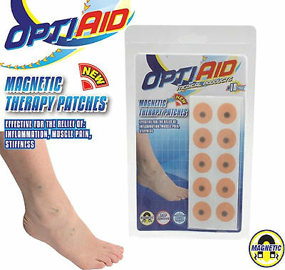 Brand New ~~ Pack Of 10 Bio Magnetic Therapy Patches ~~ * Free Post *