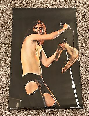 "Original 1972 Alice Cooper Personality 37.5""x25"" Poster by Pace Nice!"