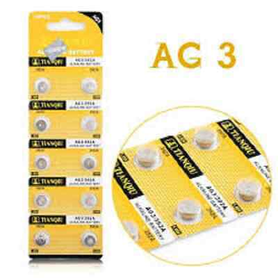 100× 384,LR41,AG3 TIANTAN Alkaline Primary Battery Brand New Factory Direct Card