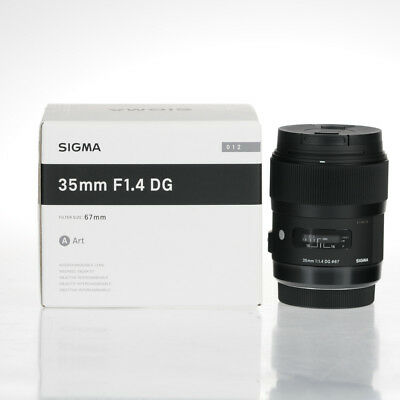 New Sigma Art 35mm f/1.4 DG HSM Lens For Canon Mount