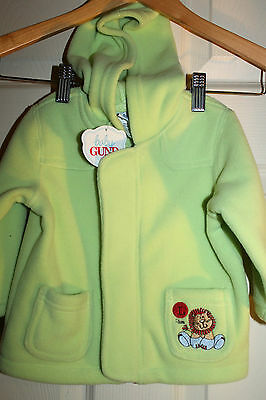 New with tags BABY GUND fleecy warm Hooded JACKET size 0  Baby Gund Jacket