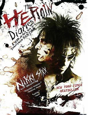 NEW The Heroin Diaries By Nikki Sixx Paperback Free Shipping