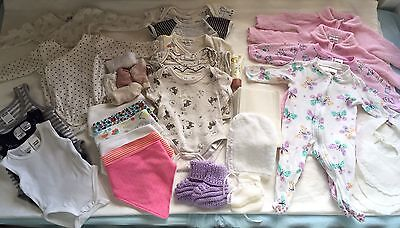 30+ Items Bulk Buy Newborn Baby Girl Clothes