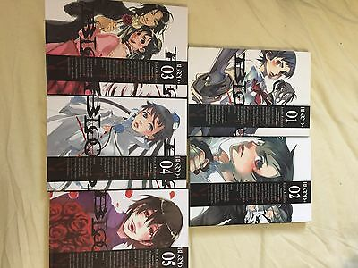 Secondhand Manga Blood+ Complete Series Books 1-5 Never Read
