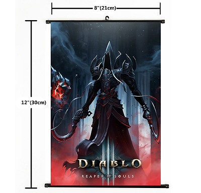 Hot Playstation Game Diablo3 Poster Wall Scroll cosplay 2256