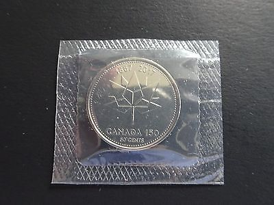 2017 CANADA 50 Cents 150TH ANNIVERSARY UNC PROOF-LIKE  SEALED - FROM MINT PACK