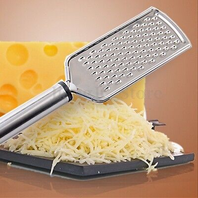 Hand Stainless Steel Small Eyelet Cheese Carrot Cabbage Tomato Ginger Grater New
