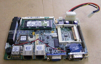 1PC Used Weida IPC 3.5 'Motherboard WAFER-8522 Rev:1.0