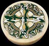 BODHRAN 8 inch Celtic Cross