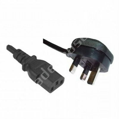 3 Pin UK Kettle Leads Plug PC Cable Power Cord for LG, Sony, Panasonic LCD TV_UK