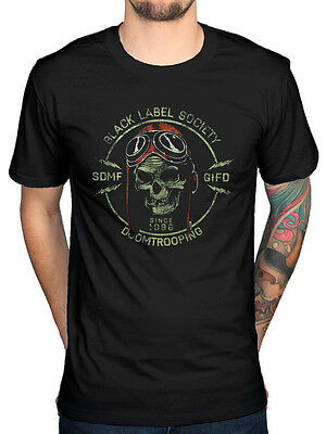 Official Black Label Society Doom Trooper T-Shirt Unisex Sonic Brew Shot To Hell