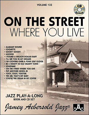 AEBERSOLD 132 On The Street Where You Live Bk & CD