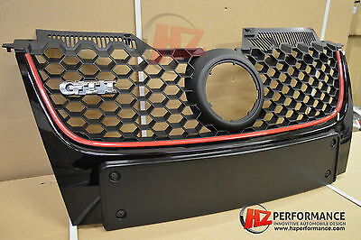 Vw Jetta Golf Mk5 Gti 2003 To 2009 Honeycomb Bumper Grill Mesh Uk Centre Grille