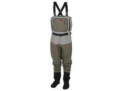 NEW 2017! Scierra W-SEAM Stocking Foot Waders / sizes M - XXL / chest waders