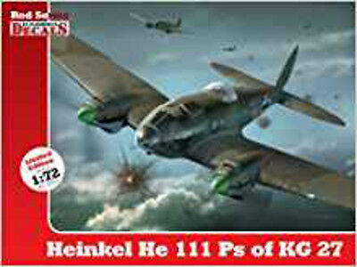 Heinkel He 111 Ps of KG 27 (Kagero Decals Red Series), New, Sadlo, Andrzej, Gora