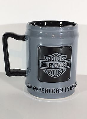 "HARLEY DAVIDSON HOG "" The American Legend "" Coffee Cup Mug - New Never Used"