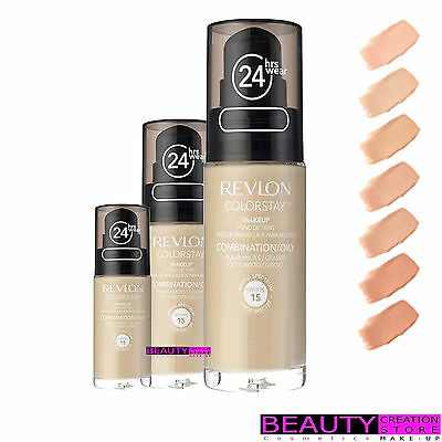 REVLON Colorstay 24 Hr Makeup Foundation 30ml CHOOSE SHADE / TYPE RV001