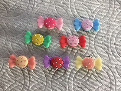 Candy Shoe Charms Fits Crocs Candy Clog Charms Colorful Candy Shoe Charms