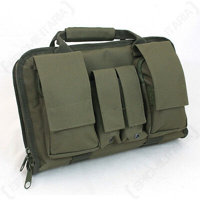 Tactical Pistol Case - Colour Option - Bag Carrier Holdall Magazine Molle Army
