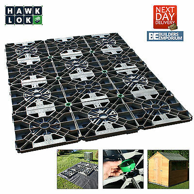 Hawklok Shed Base Kit For Garden Shed/building ( All Sizes) + Membrane & Clips