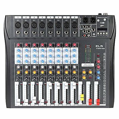 ammoon 8-channel mixer mixing console recording / DJ stage / karaoke / mu... P/O