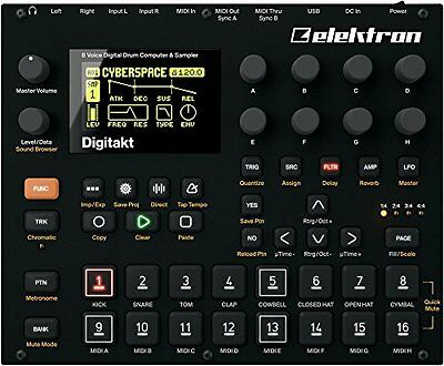 Elektron electron / Digitakt DDS-8 digital drum machines P/O