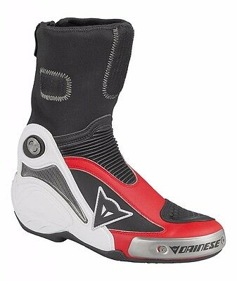 Dainese Axial Pro In Red White - Many Sizes in Stock! - Fast & FREE Shipping